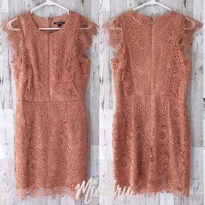 Peach Mini Dress